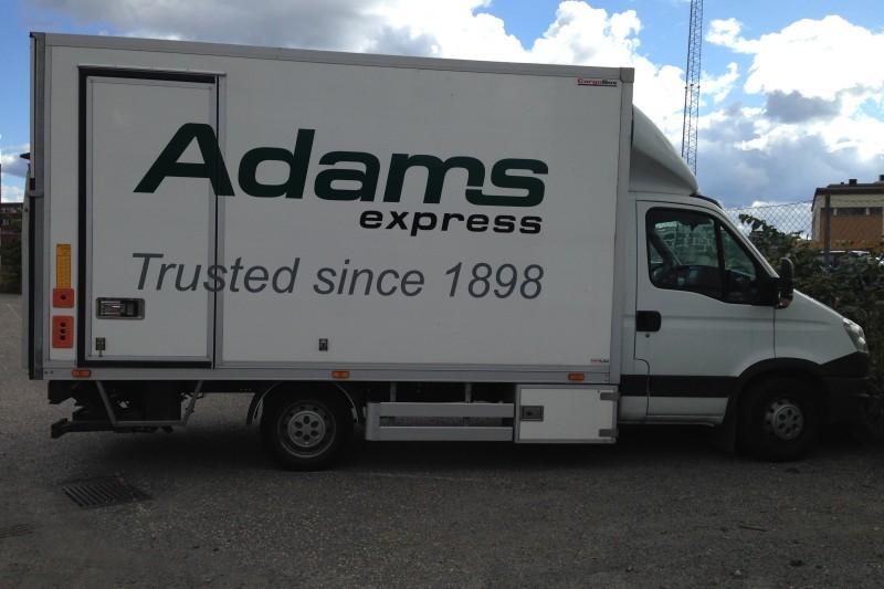 Om Adams Express AS